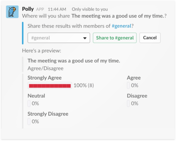share survey polly results