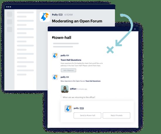 Moderating an Open Forum