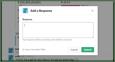 AMA response slack polly