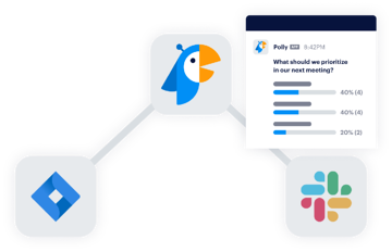 prioritization questionnaire with app integration icons