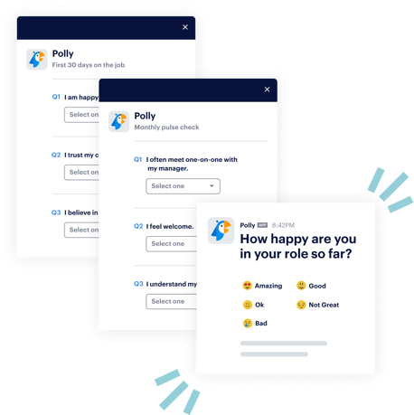 different questionnaire types for employee onboarding feedback