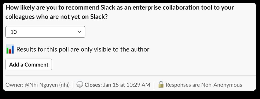 Slack adoption NPS-1