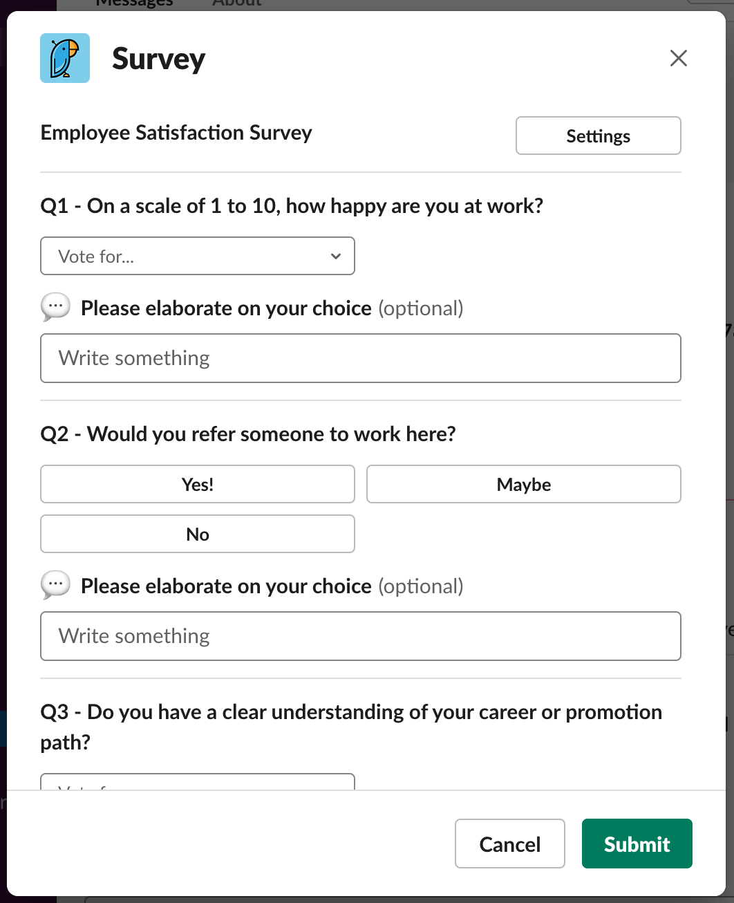 Survey Taking 1