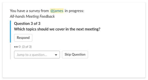 All-Hands Meeting Feedback