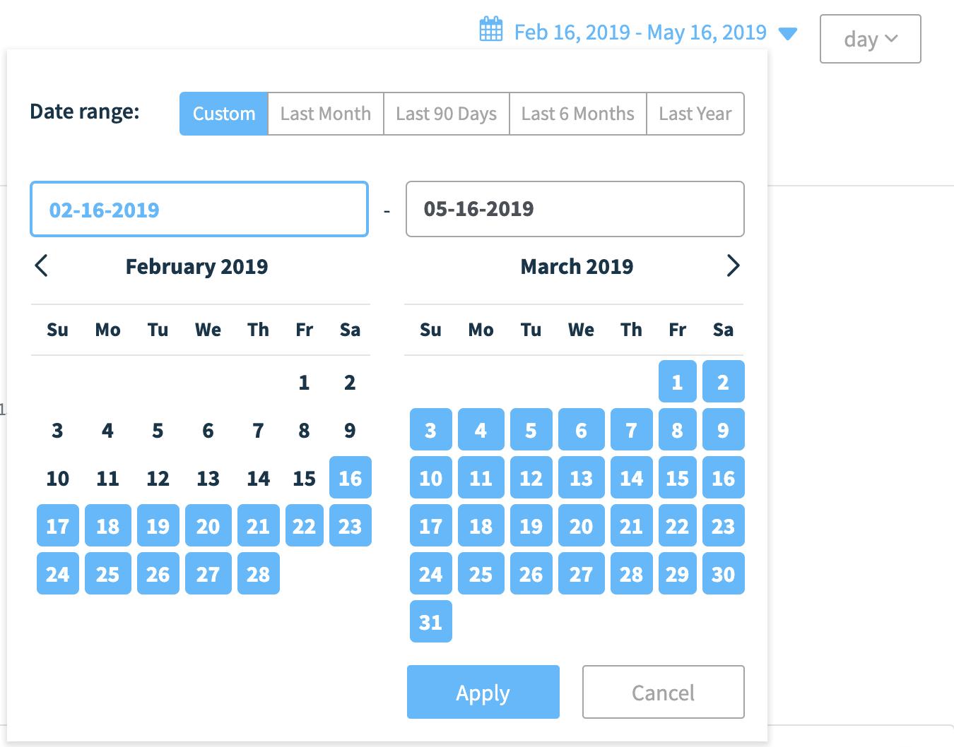 Workflow Date Range