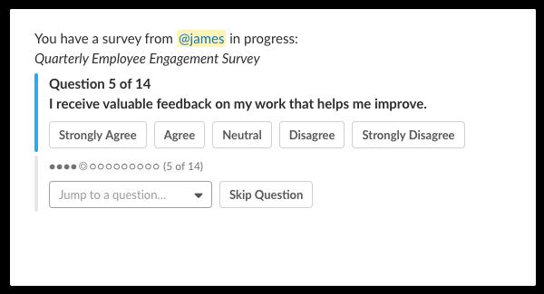 Quarterly Employee Engagement Survey